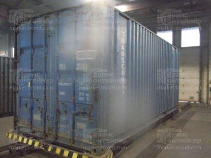Изображение 20-футовый б/у контейнер №0459447
