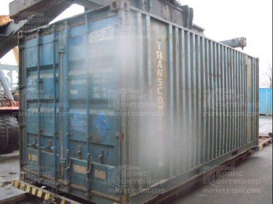 Изображение 20-футовый б/у контейнер №0464309