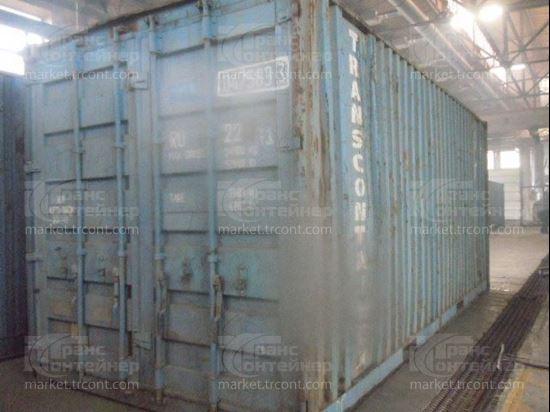 Изображение 20-футовый б/у контейнер №0475833