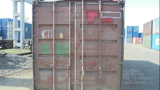 Изображение 20-футовый б/у контейнер №0163753