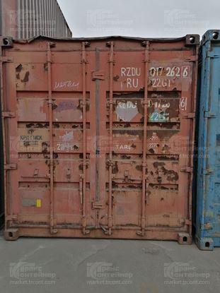 Изображение 20-футовый б/у контейнер №0172626