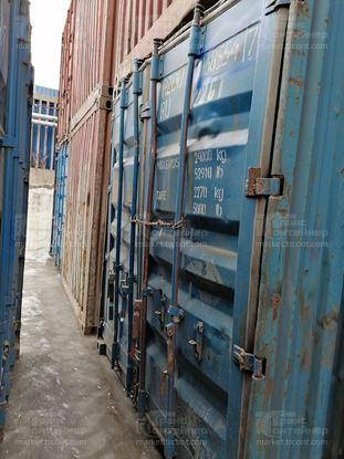 Изображение 20-футовый б/у контейнер №0685547