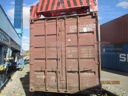 Изображение 20-футовый б/у контейнер №0276702