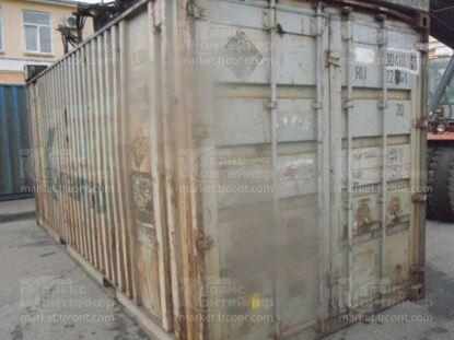 Изображение 20-футовый б/у контейнер №0041117