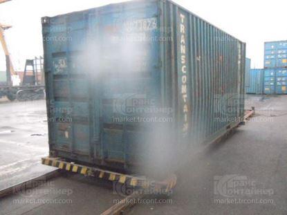 Изображение 20-футовый б/у контейнер №0073876