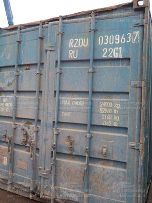 Изображение 20-футовый б/у контейнер №0309637