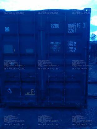 Изображение 20-футовый б/у контейнер №0685151