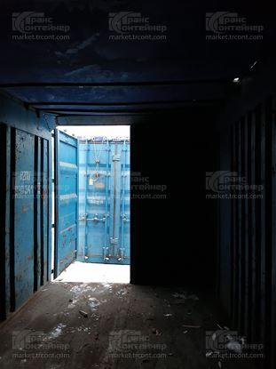 Изображение 20-футовый б/у контейнер №0303412