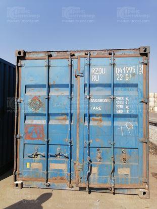 Изображение 20-футовый б/у контейнер №0419953