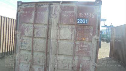Изображение 20-футовый б/у контейнер №0157386