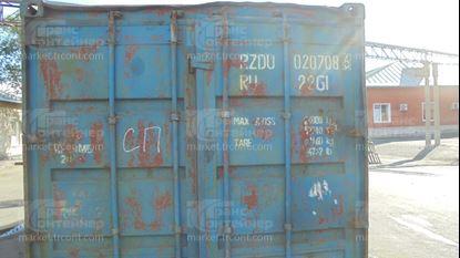 Изображение 20-футовый б/у контейнер №0207086