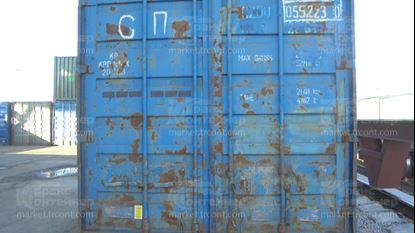 Изображение 20-футовый б/у контейнер №0552230