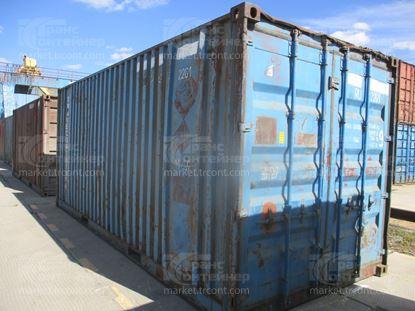 Изображение 20-футовый б/у контейнер №0648688