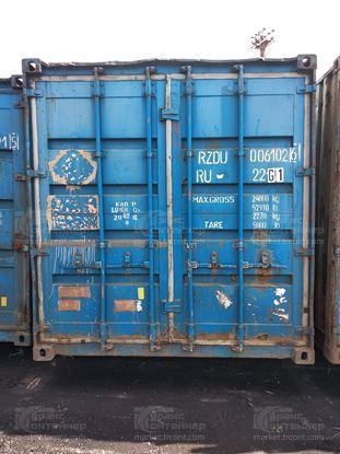 Изображение 20-футовый б/у контейнер №0061026