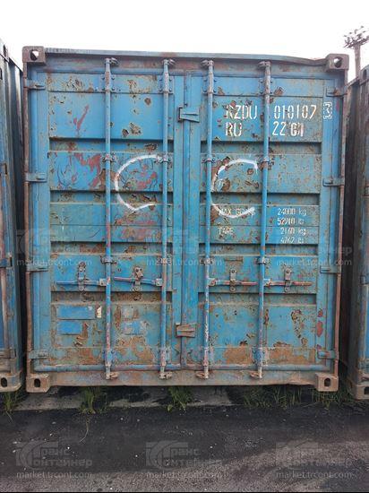 Изображение 20-футовый б/у контейнер №0101073