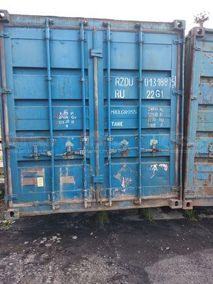 Изображение 20-футовый б/у контейнер №0131885