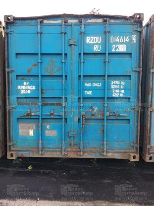 Изображение 20-футовый б/у контейнер №0146144
