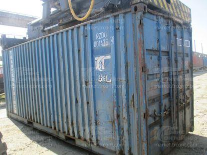 Изображение 20-футовый б/у контейнер №0014364