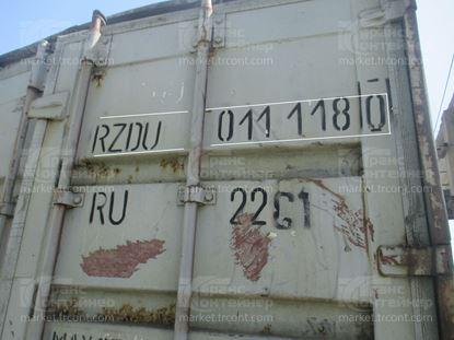 Изображение 20-футовый б/у контейнер №0111180