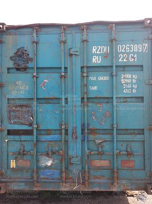 Изображение 20-футовый б/у контейнер №0263897