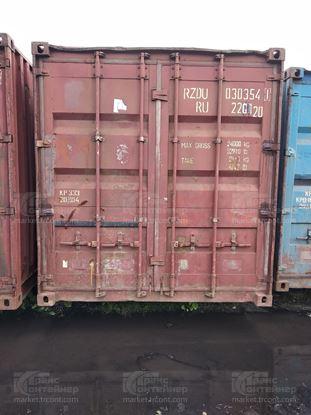 Изображение 20-футовый б/у контейнер №0303541