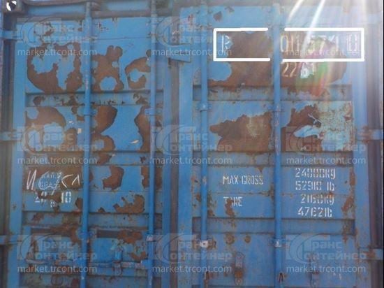 Изображение 20-футовый б/у контейнер №0115740