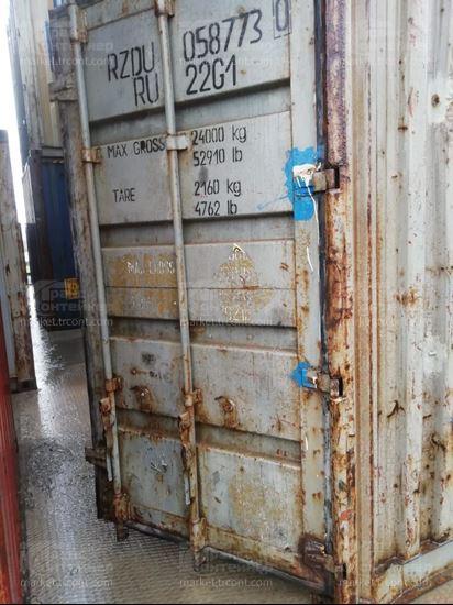 Изображение 20-футовый б/у контейнер №0587730