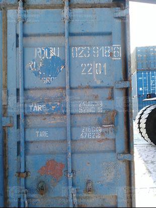 Изображение 20-футовый б/у контейнер №0239186