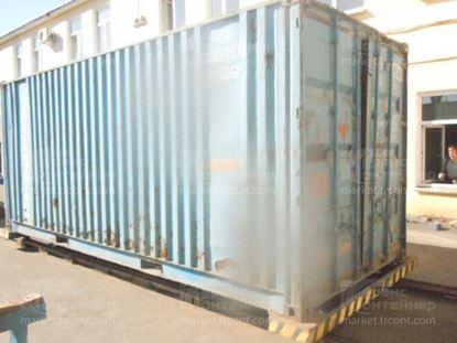 Изображение 20-футовый б/у контейнер №0293839