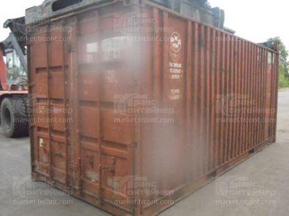 Изображение 20-футовый б/у контейнер №0196459
