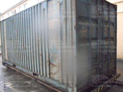 Изображение 20-футовый б/у контейнер №0461315