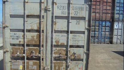 Изображение 20-футовый б/у контейнер №0189980
