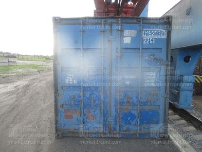 Изображение 20-футовый б/у контейнер №0182033