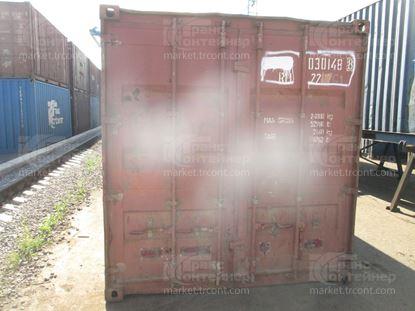 Изображение 20-футовый б/у контейнер №0301488