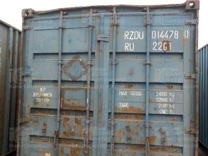 Изображение 20-футовый б/у контейнер №0144780