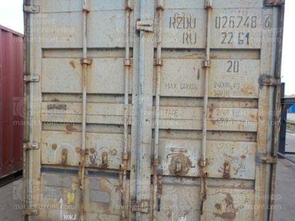 Изображение 20-футовый б/у контейнер №0267486