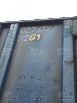 Изображение 20-футовый б/у контейнер №0273323