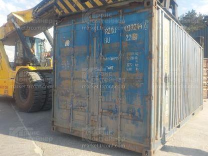 Изображение 20-футовый б/у контейнер №0392446
