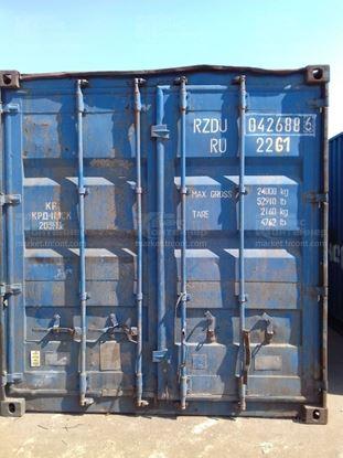 Изображение 20-футовый б/у контейнер №0426886
