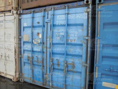 Изображение 20-футовый б/у контейнер №0689460