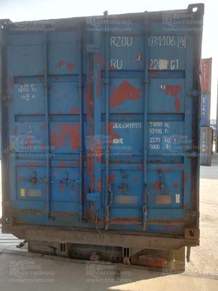 Изображение 20-футовый б/у контейнер №0311064