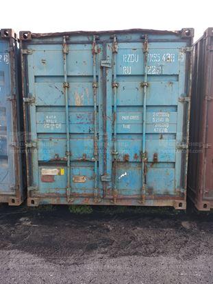 Изображение 20-футовый б/у контейнер №0554383