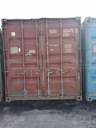 Изображение 20-футовый б/у контейнер №0634719