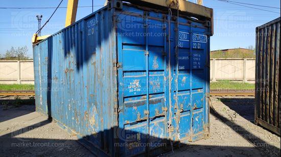 Изображение 20-футовый б/у контейнер №0219533