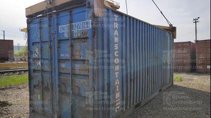 Изображение 20-футовый б/у контейнер №0278140