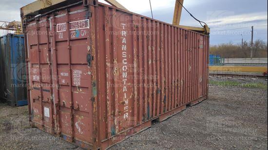 Изображение 20-футовый б/у контейнер №0569758