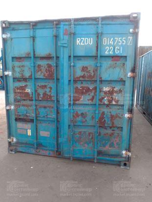 Изображение 20-футовый б/у контейнер №0147557