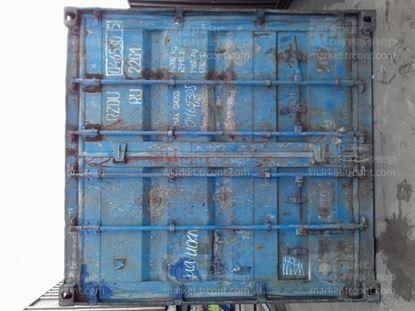 Изображение 20-футовый б/у контейнер №0465305