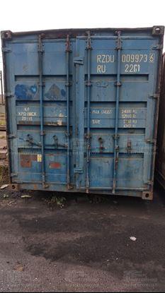 Изображение 20-футовый б/у контейнер №0099736