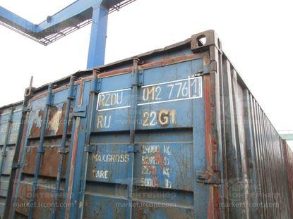 Изображение 20-футовый б/у контейнер №0127761
